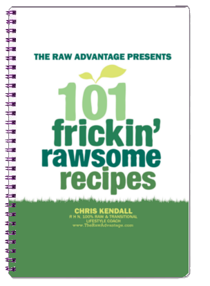 101 frickin rawsome recipes