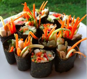 Better than nori seaweed free vegan sushi