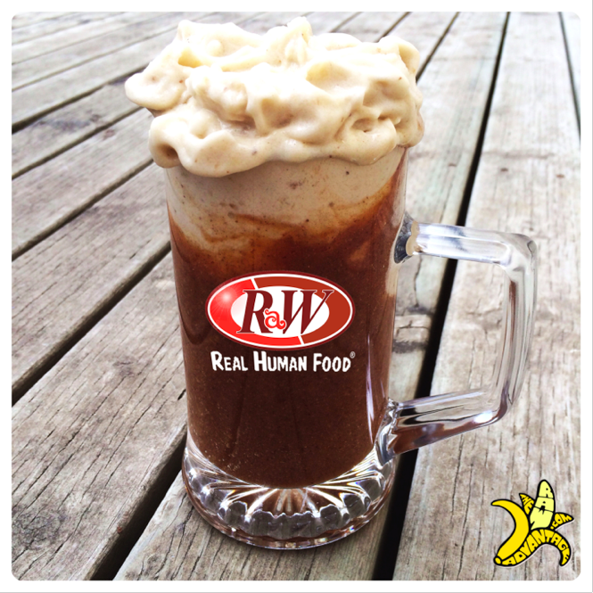 raw icecream float