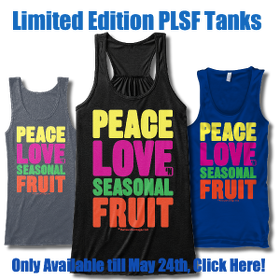 Peace Love n Seasonal Fruit Tank Tops