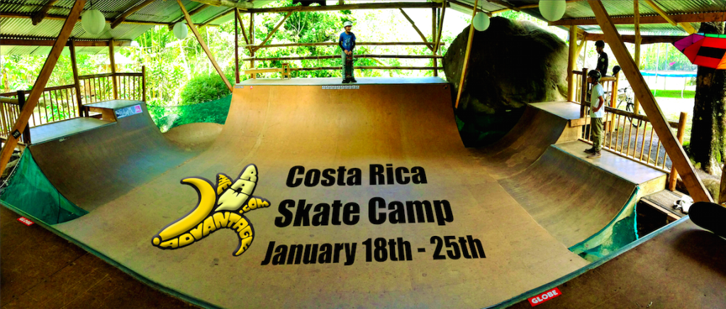 Skate camp costa rica raw food yoga