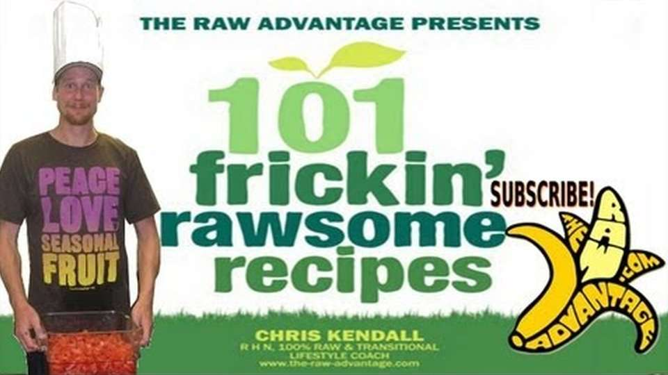 101 Frickin' Rawsome Recipes ebook up by Donation :)