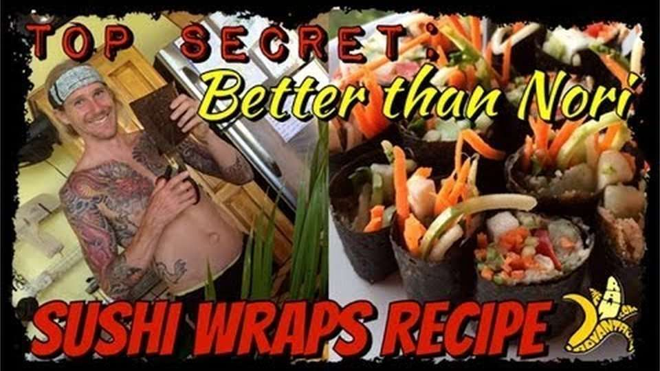"The Raw Advantage ""Better than Nori"" Raw Vegan Sushi Sheets Recipe"