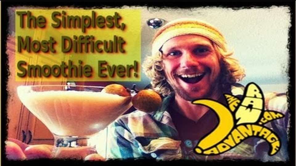 The Simplest, Most Difficult Smoothie Ever!!