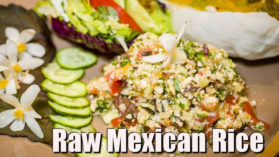 Raw Mexican Rice or Couscous and the Woodstock Fruit Festival!