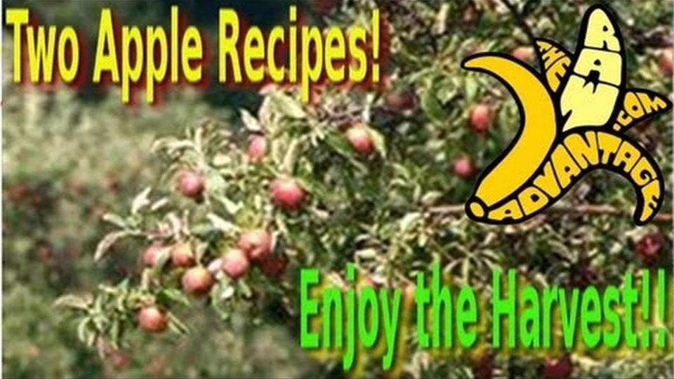 Two Apple Recipes, Enjoy the Harvest!