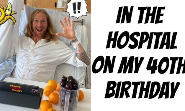 In the Hospital on my 40th Birthday