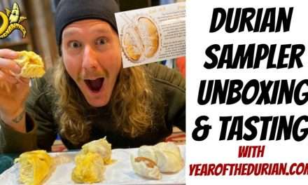 Durian Sampler Unboxing and Tasting with YearofTheDurian.com