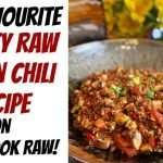 Let's Cook Raw…Together! Chef Chris Kendall prepares Raw Vegan Chili!