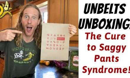 Unbelts Unboxing The Cure to Saggy Pants Syndrome