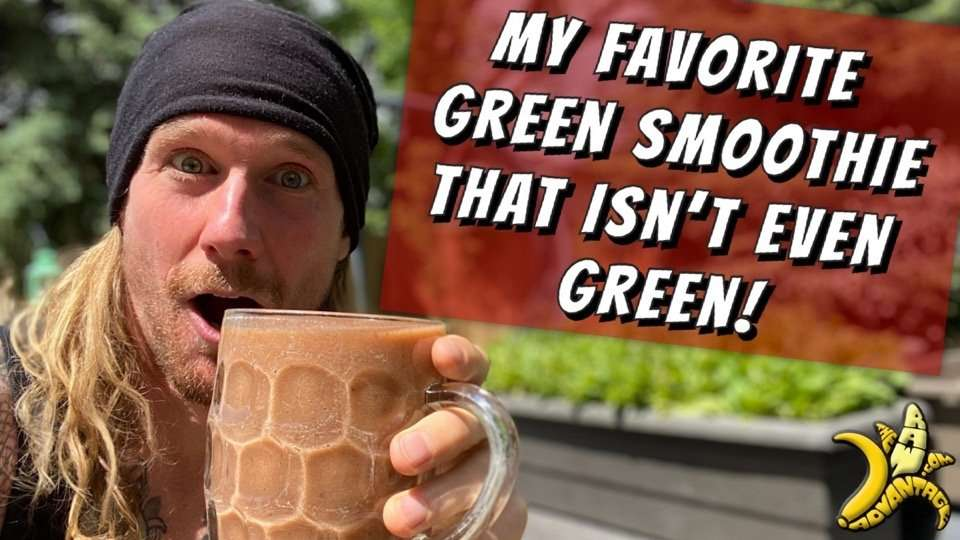 My Favorite Green Smoothie, That isn't Green!?