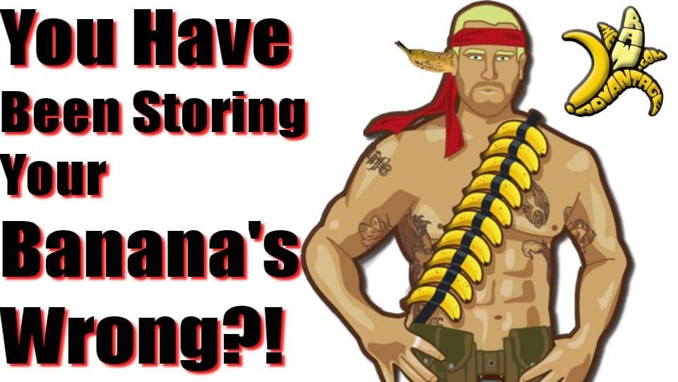 Have You Been Storing Your Bananas Wrong?!