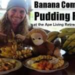 Banana Commander Pudding at the Ape Living retreat in Costa Rica
