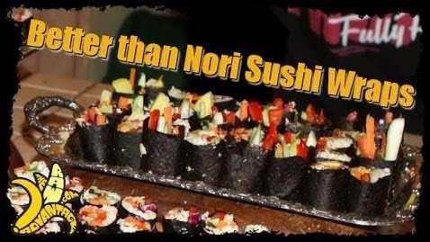 Better than Nori Sushi Wraps