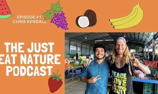 The Just Eat Nature Podcast Episode 1 with Chris Kendall