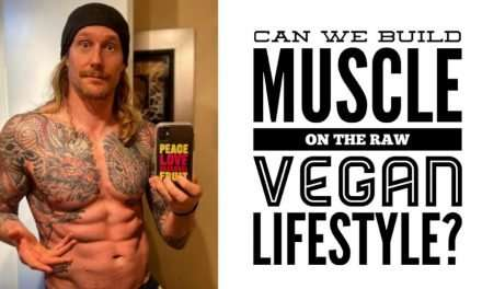 Can we build muscle on the raw vegan lifestyle? with Chris Kendall