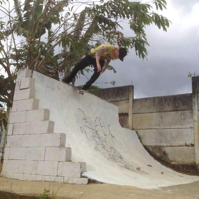 Chris Kendall Back Lip skate