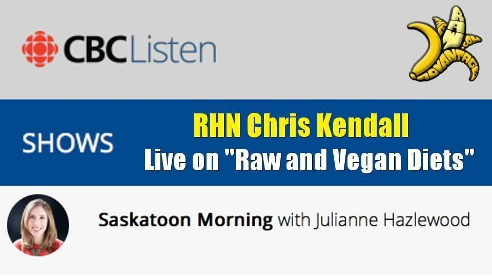 Chris Kendall RHN Live on CBC Radio