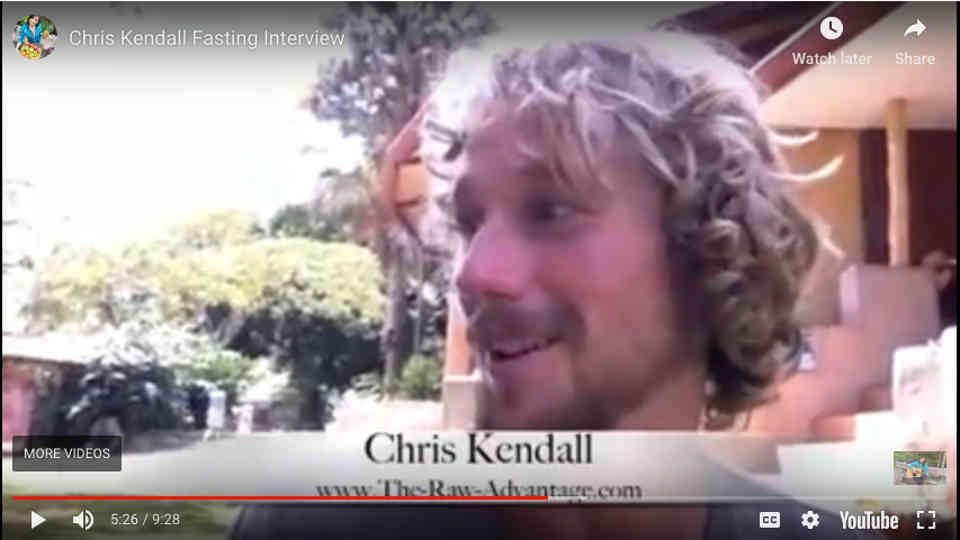 Chris Kendall interview on Fasting by Anastasia Garkusha