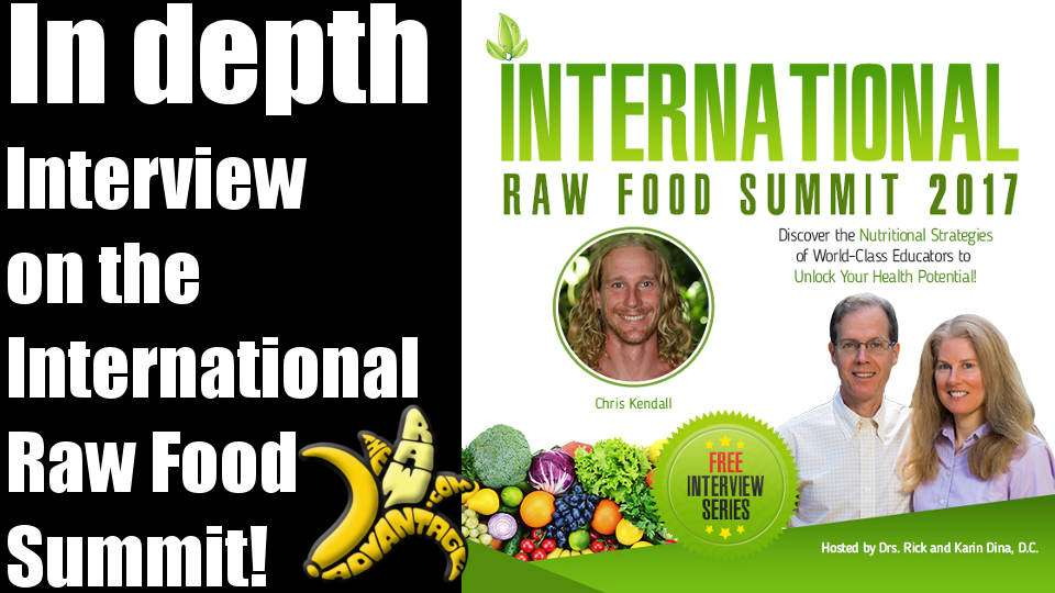 Chris Kendall Interviewed on the International Raw Food Summit 2017