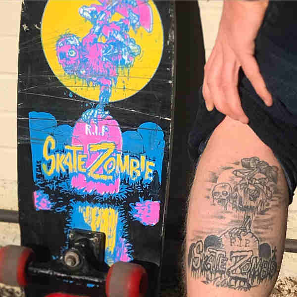 Chris Kendall SKate Zombie