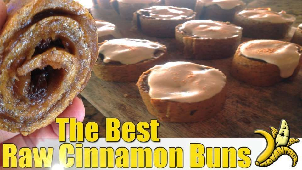 Cinnamon Buns, The Best Raw Cinnamon Bun Recipe Ever!