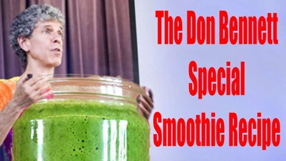 Epic Smoothie Recipes, The Don Bennett Special!