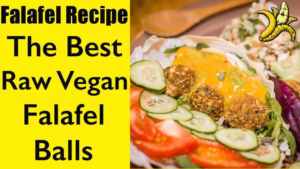 Falafel Recipe | The Best Raw Vegan Falafel Balls