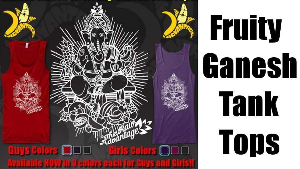 Ganesh is Fresh, Fruity Ganesh Tank Tops!