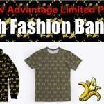 "The Raw Advantage Limited ""High Fashion Banana"" Zip Hoodies, Pants and T's!"