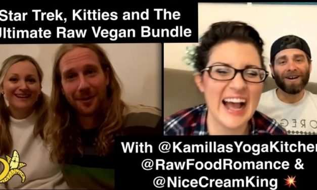 Star Trek, Kitties and The Ultimate Raw Vegan Bundle Final Call!