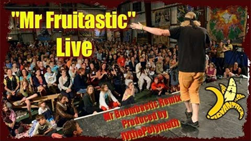 """Mr Fruitastic"" Live Parody Remix of Mr Boombastic by Shaggy"