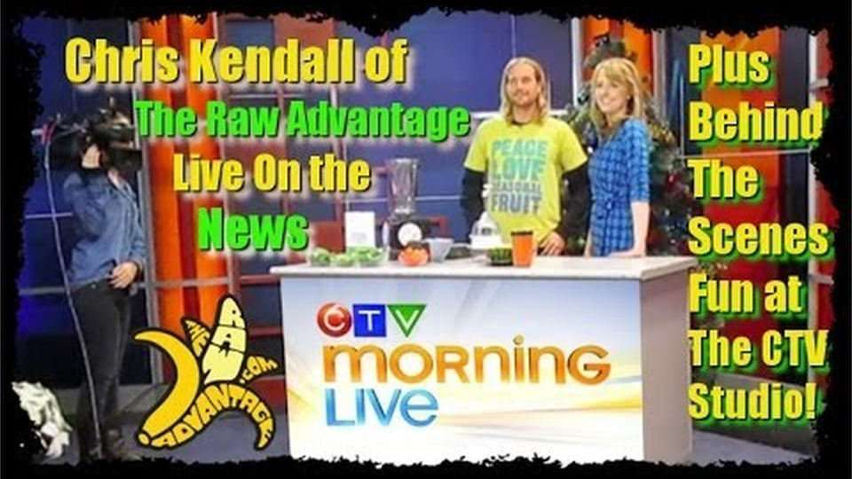 Chris Kendall on CTV News Live, Plus Behind the Scenes Fun