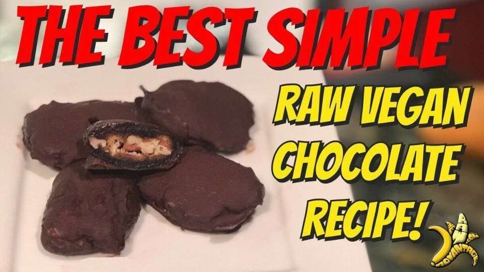 Raw Chocolate Recipe | Best Vegan Chocolate Ever!