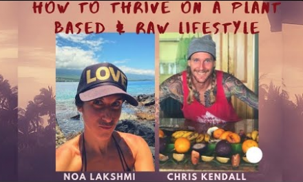 "How to Thrive on a Raw Food Lifestyle | Noa Lakshmi Interviews me for her ""True Health"" FB page"