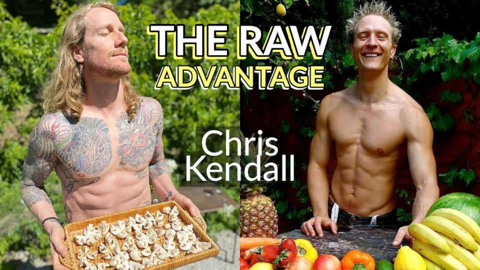 Raw Vegan Pizza Chef Chris Kendall HASN'T BEEN SICK FOR 22 YEARS!! The Raw Advantage Sebcast #571
