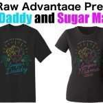 "New ""Sugar Daddy"" and ""Sugar Mama"" t-shirts!"
