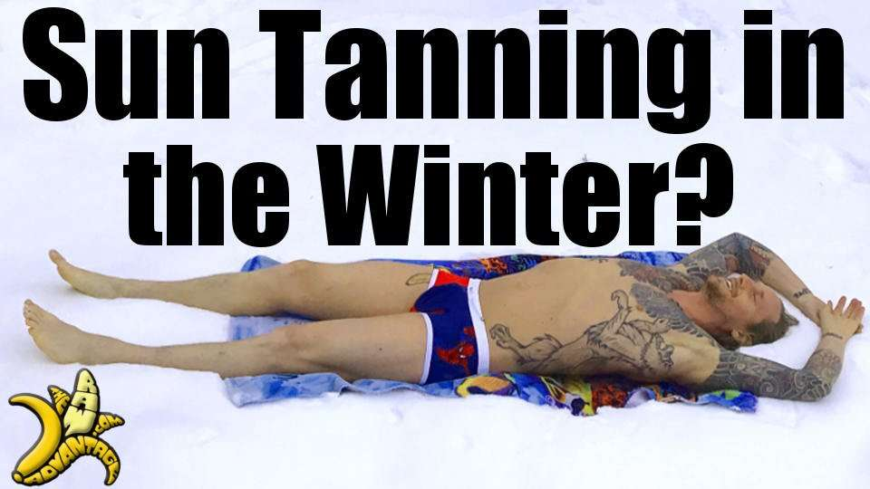 Sun Tanning in the Winter?