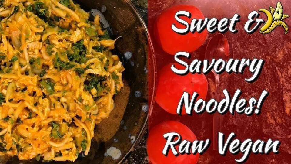 Sweet and Savoury Noodles | Raw Vegan Recipes