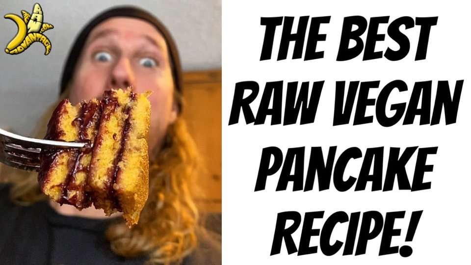 The Best Raw Vegan Pancakes + Bonus Berry Syrup Recipe!