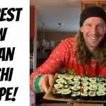 The Best Raw Vegan Sushi Recipe | Secret Trick to Make Raw Rice Stick!
