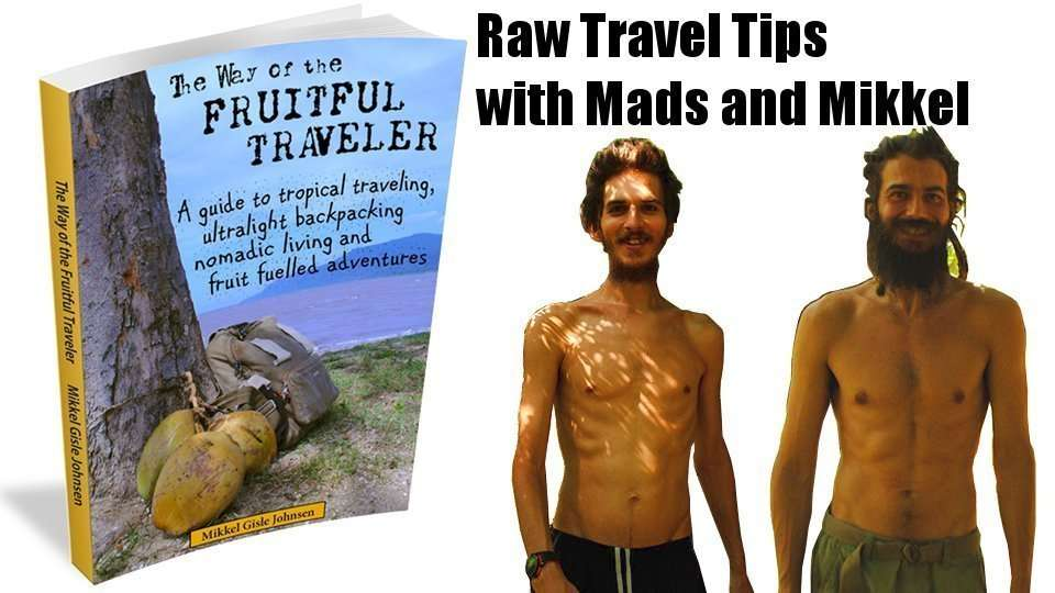 The Way of the Fruitful Traveler, Raw Vegan Travel Tips