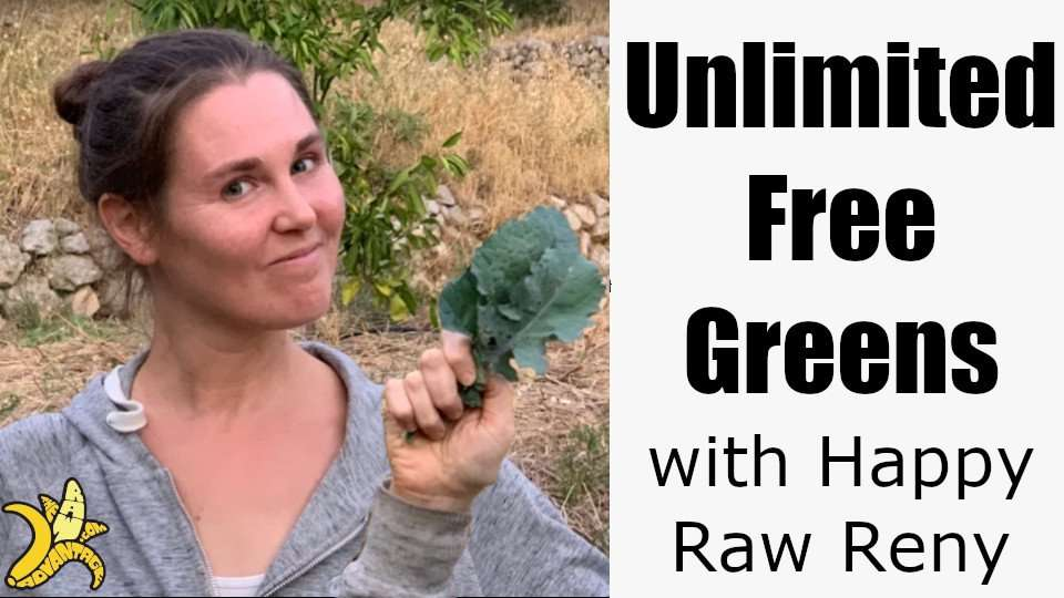 Unlimited Free Greens with Happy Raw Reny