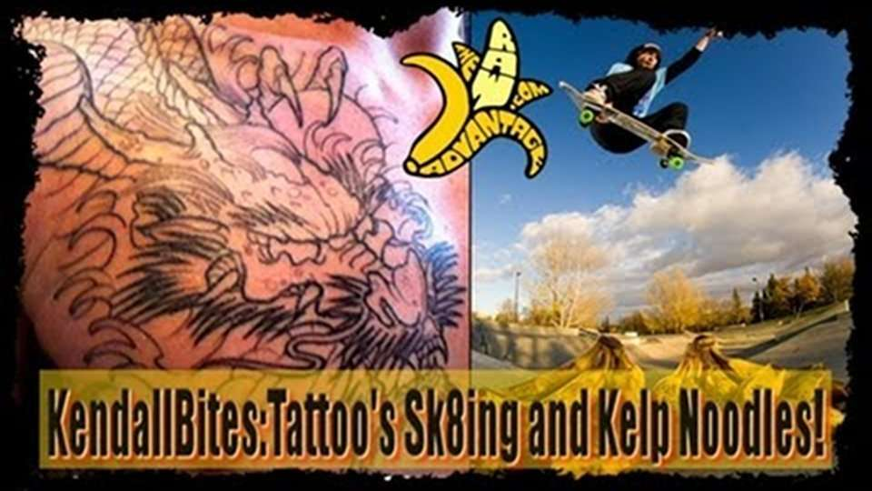KendallBites – Tattoo's, Mangos and Kelp Noodles!