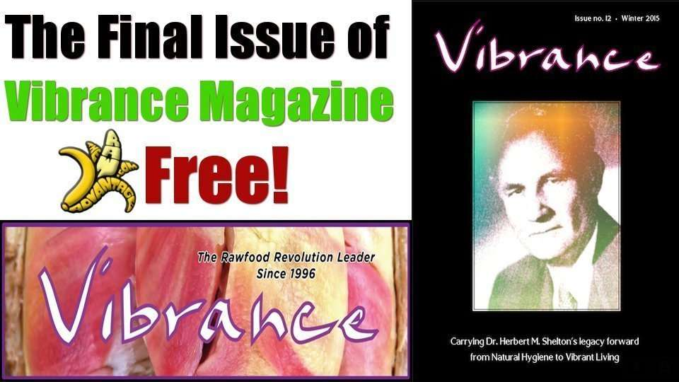 The Final Issue of Vibrance magazine!