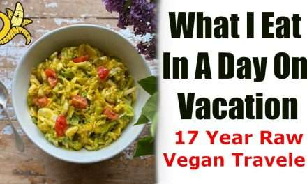 What I Eat In A Day on Vacation – 17 Year Raw Vegan RHN