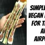 Simple Raw Vegan Recipe for Travel and Airports!