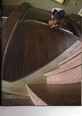 chris kendall smith concrete powder skate