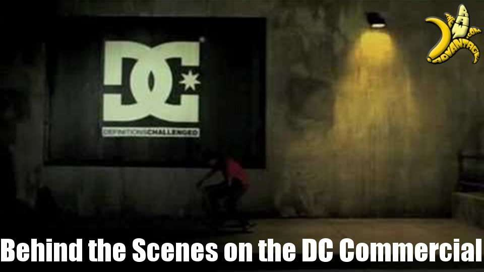 DC Commercials Behind the Scenes!