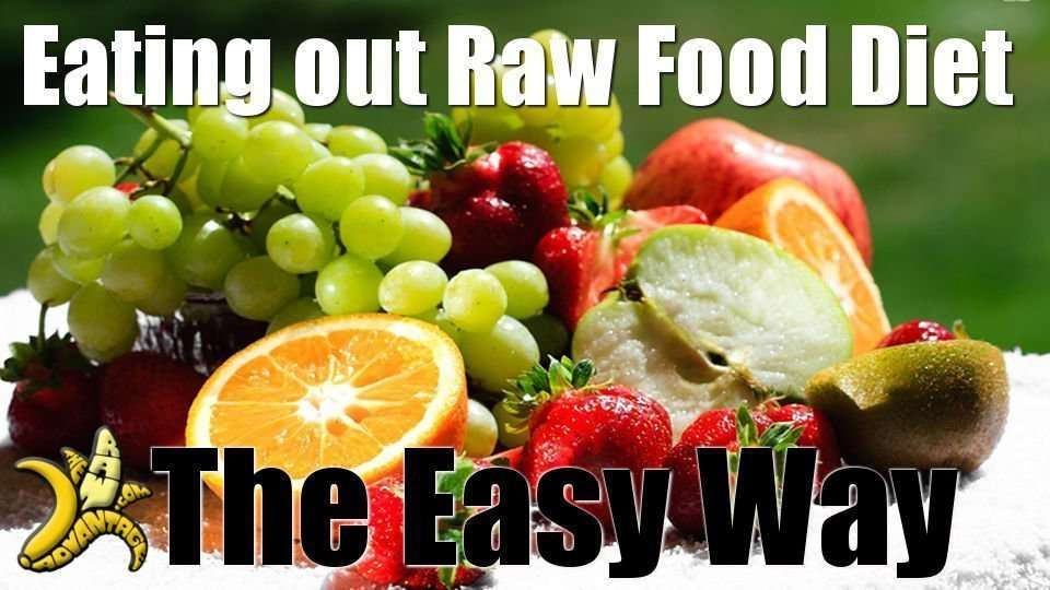 Eating out on A Raw Food Diet the Easy Way